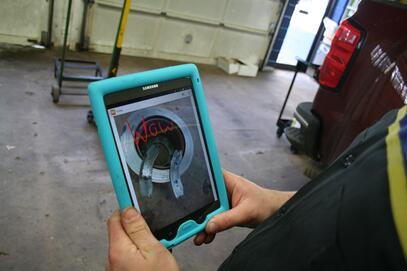 digital multi-point vehicle inspection